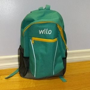 Compact Green Backpack